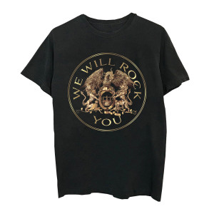 We Will Rock You Crest T-Shirt