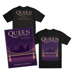 Brisbane T-Shirt + Litho Bundle