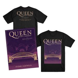 Sydney T-Shirt + Litho Bundle