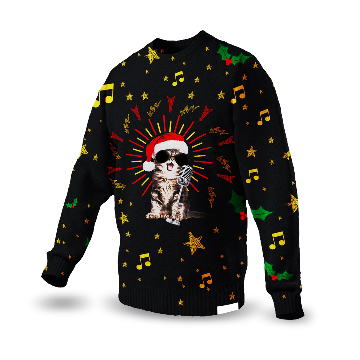 Celestial Knitted Christmas Sweater