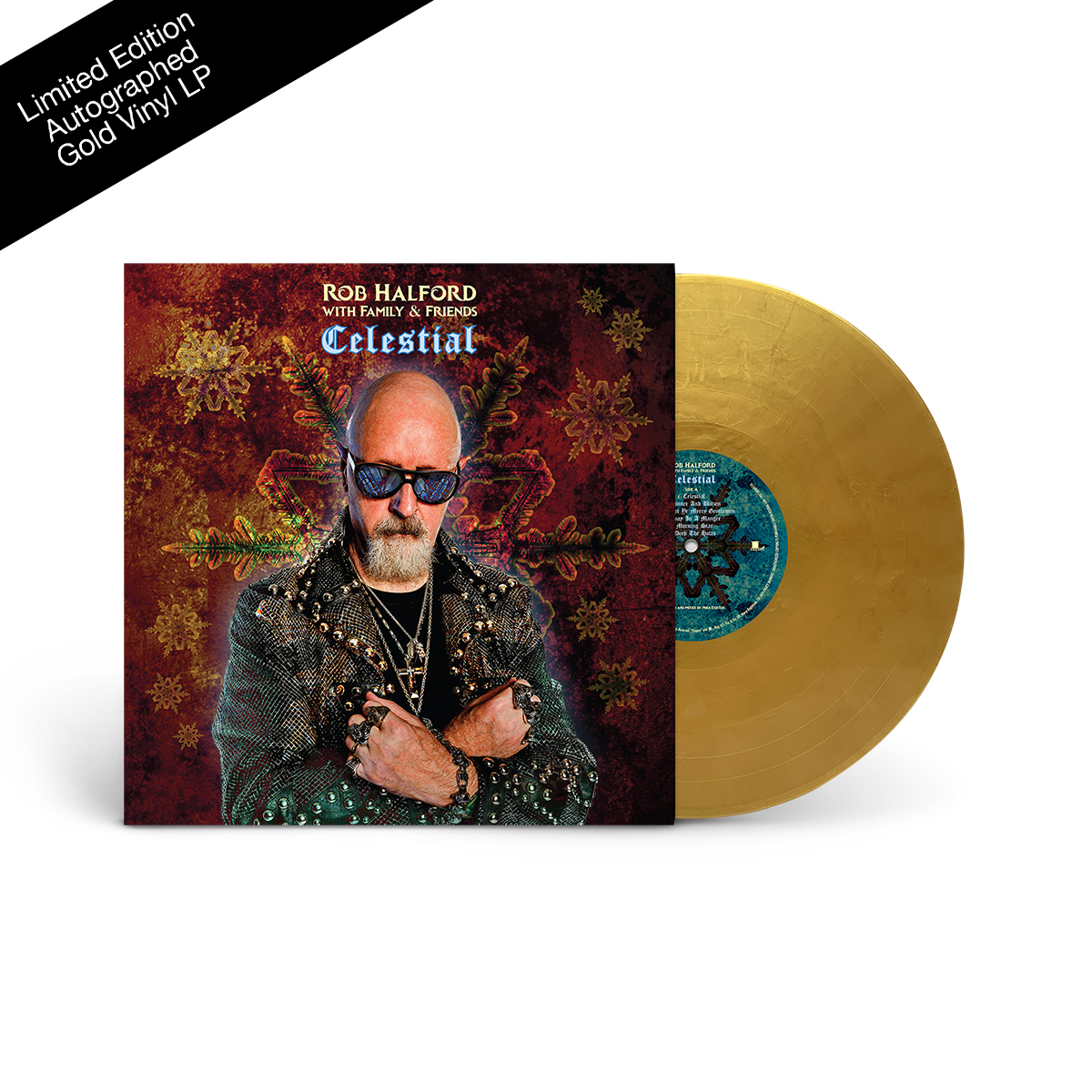 Celestial Autographed Gold LP - Only 550 Remain!