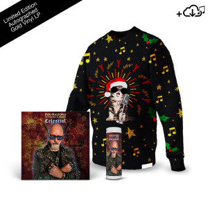 Celestial + Knitted Christmas Sweater + Prayer Candle