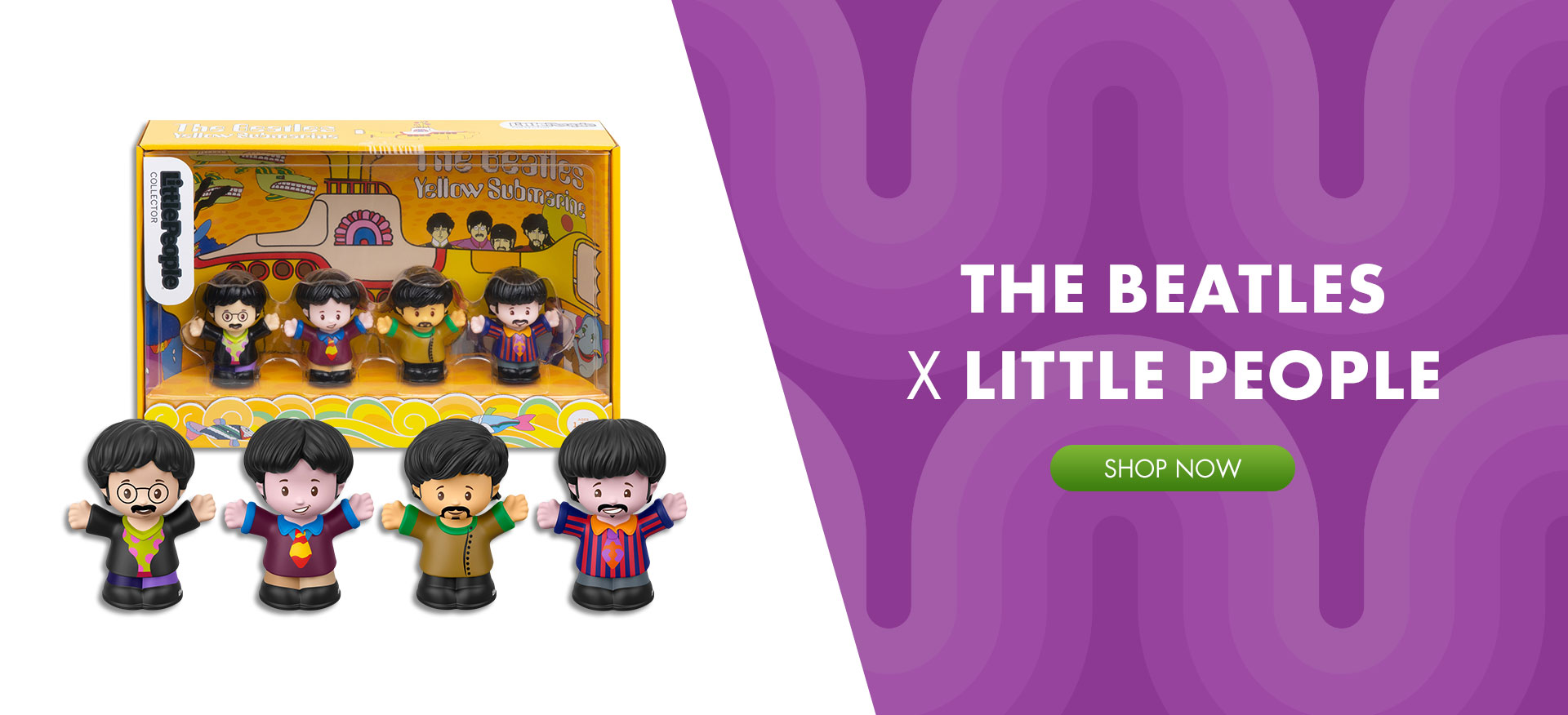Shop The Beatles X Little People®