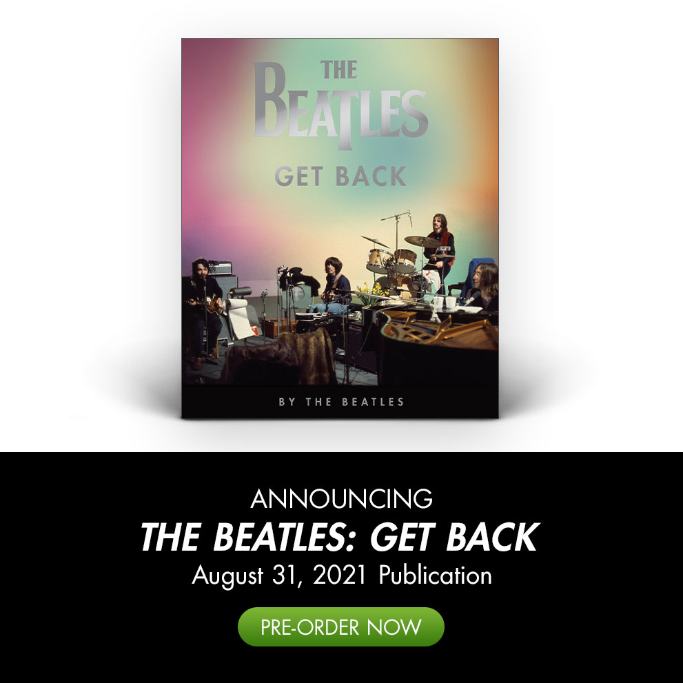 "Announcing ""The Beatles: Get Back"" Book 