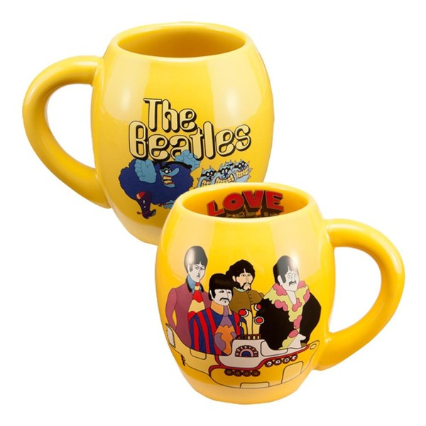 Yellow Submarine 18 Oz Oval Mug Shop The The Beatles Official Store