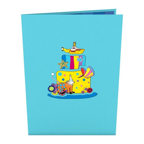 Fine Yellow Submarine Birthday Cake Lovepop Card Shop The The Beatles Funny Birthday Cards Online Alyptdamsfinfo