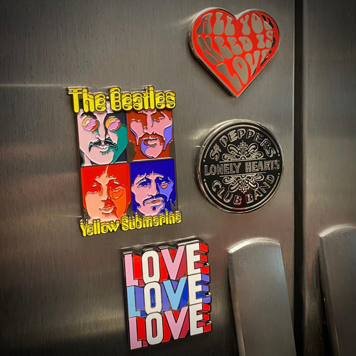 Sgt. Pepper's Enamel Magnet