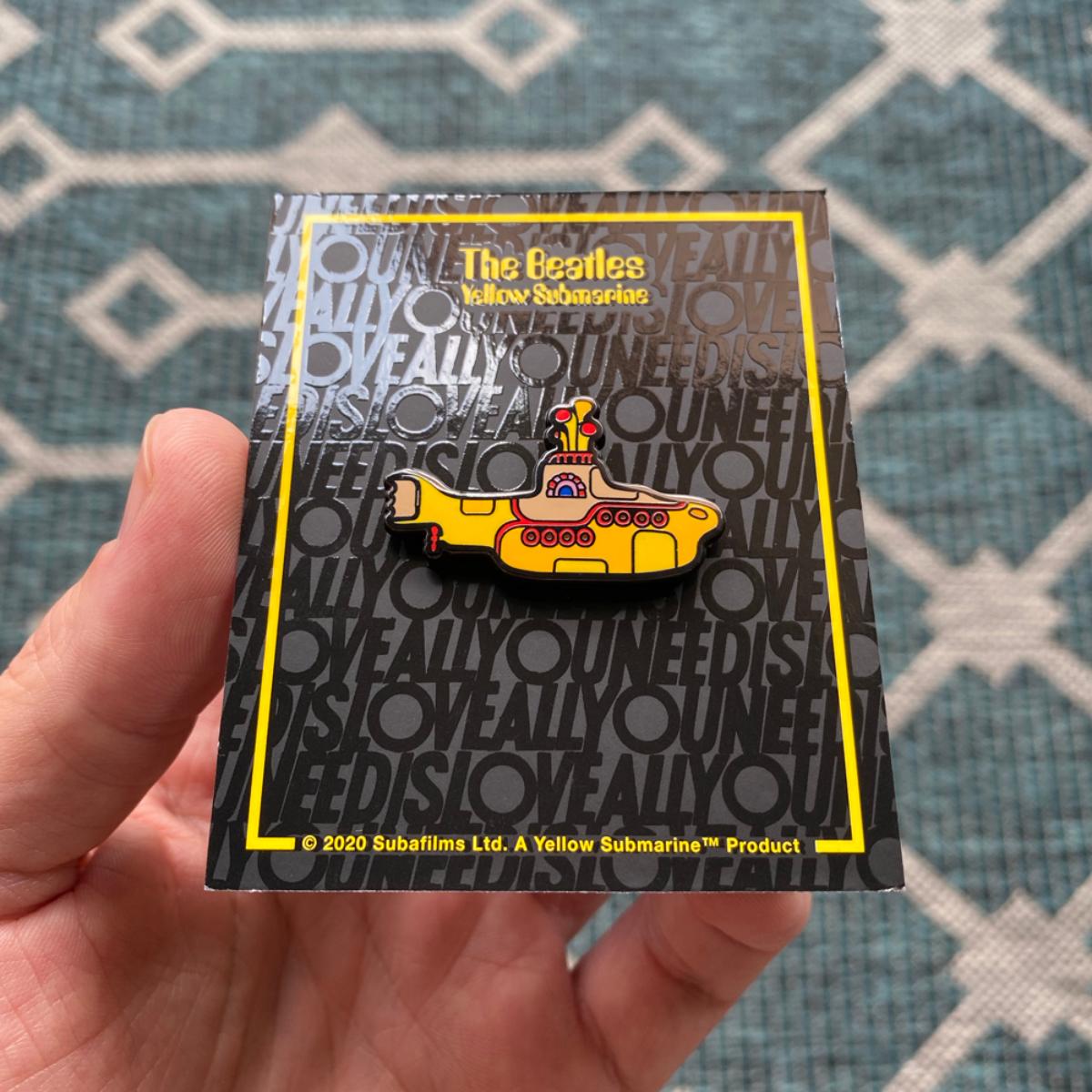Yellow Submarine Enamel Pin
