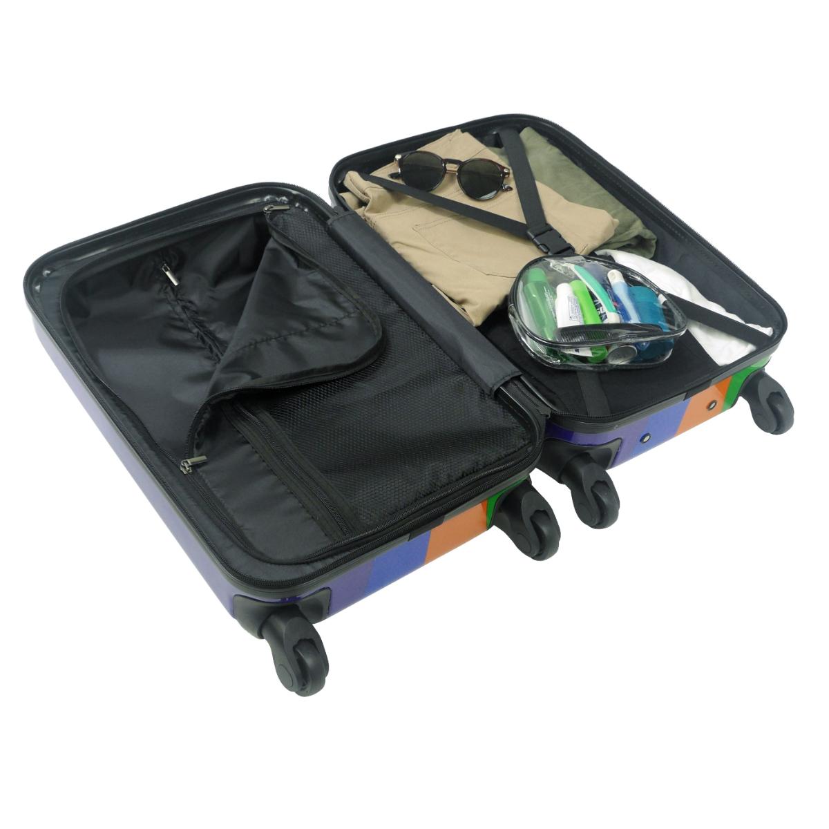 "Striped 21"" Luggage"