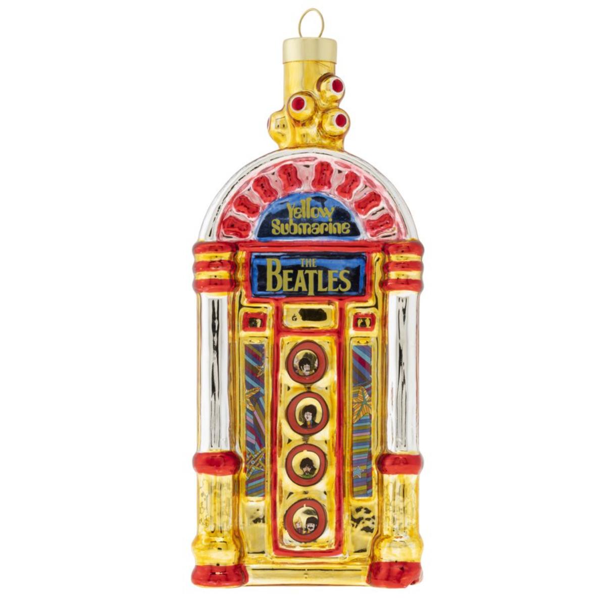 Yellow Submarine Jukebox Ornament