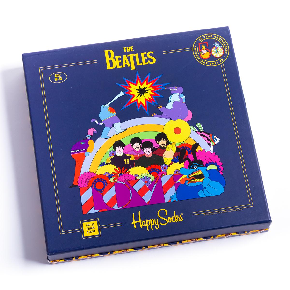 Happy Socks 50 Years Of Love 6 Pack