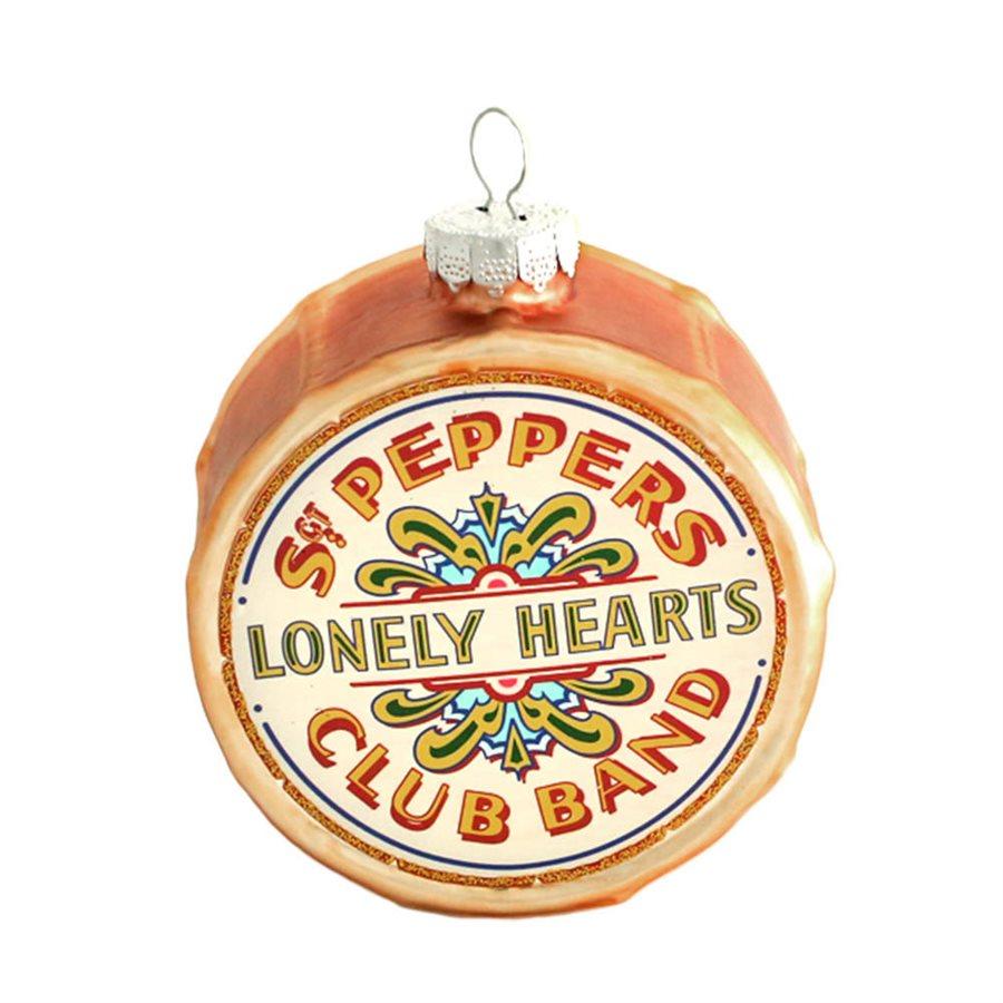 The Beatles Sgt. Pepper Drum Ornament