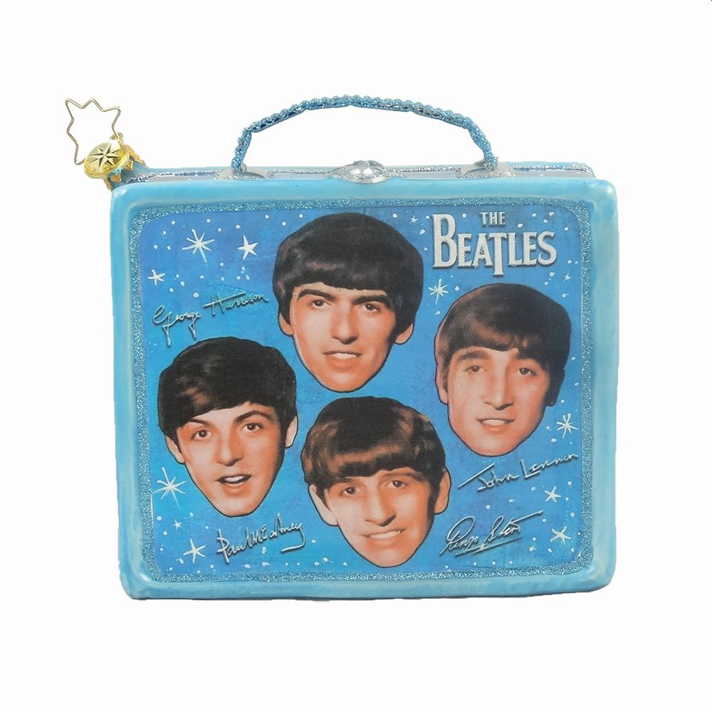 The Fab Four Lunchbox Ornament