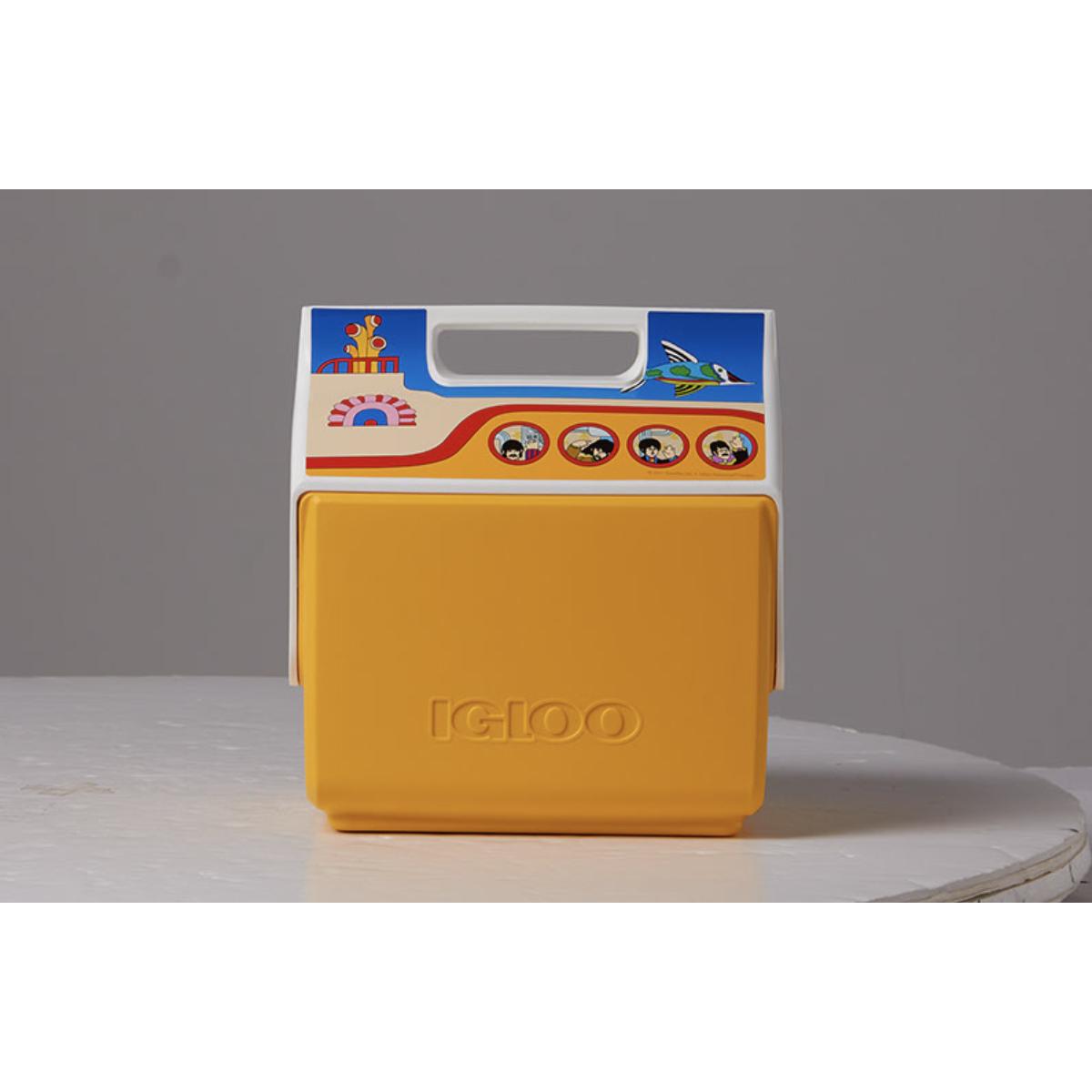 Yellow Submarine Igloo Cooler