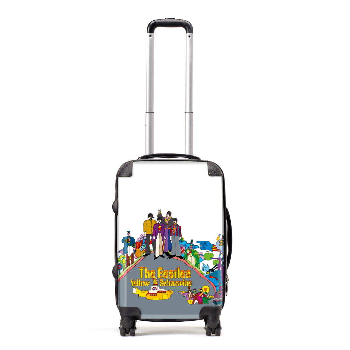 Yellow Submarine Nothing is Real Characters Carry-on Luggage