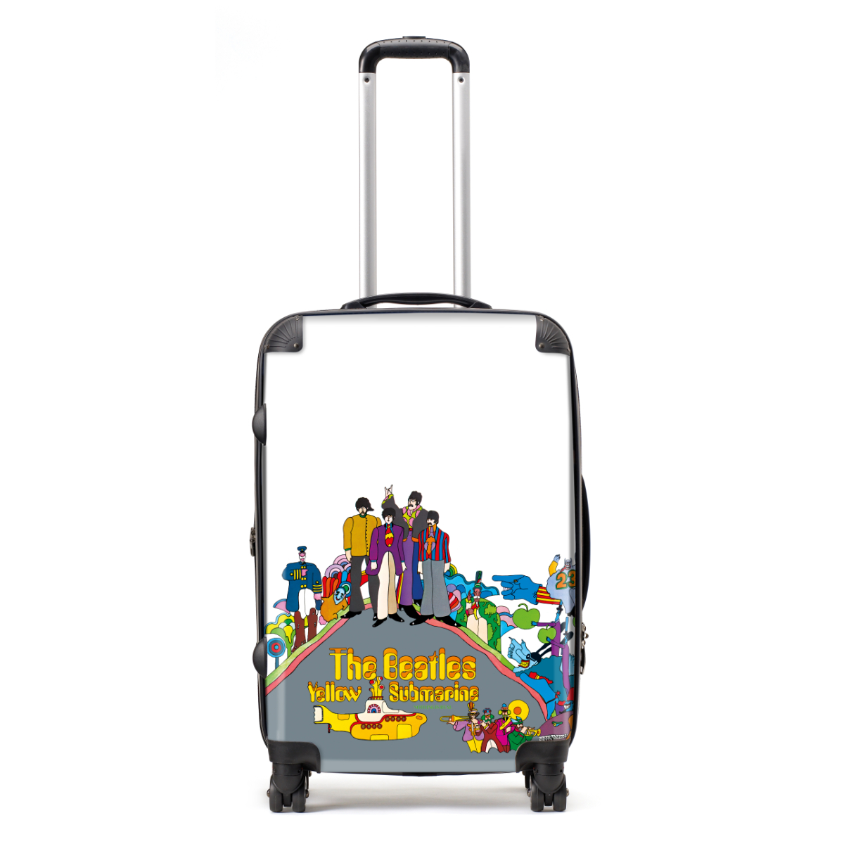 Yellow Submarine Nothing is Real Characters Medium Luggage