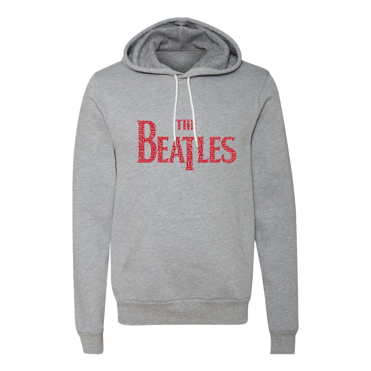 The Beatles Logo Love Songs Hoodie