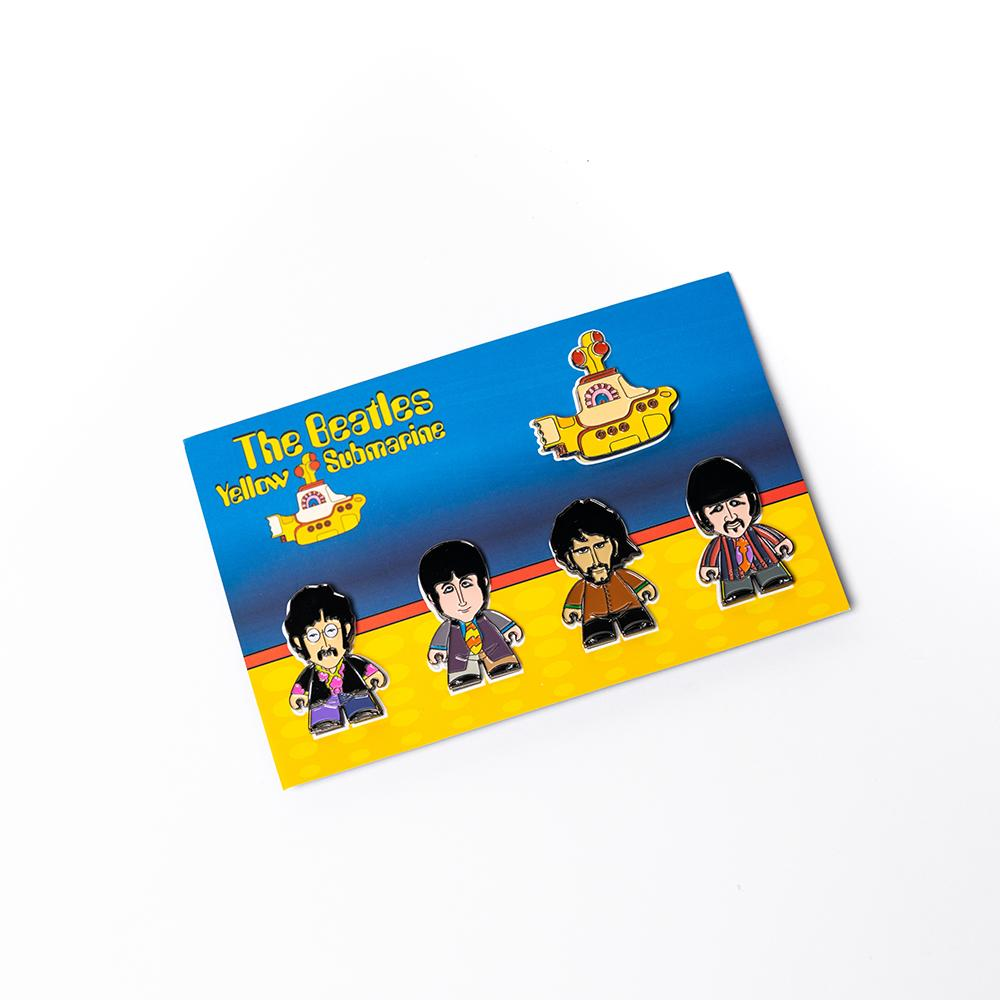 Yellow Submarine Titan Pin Set