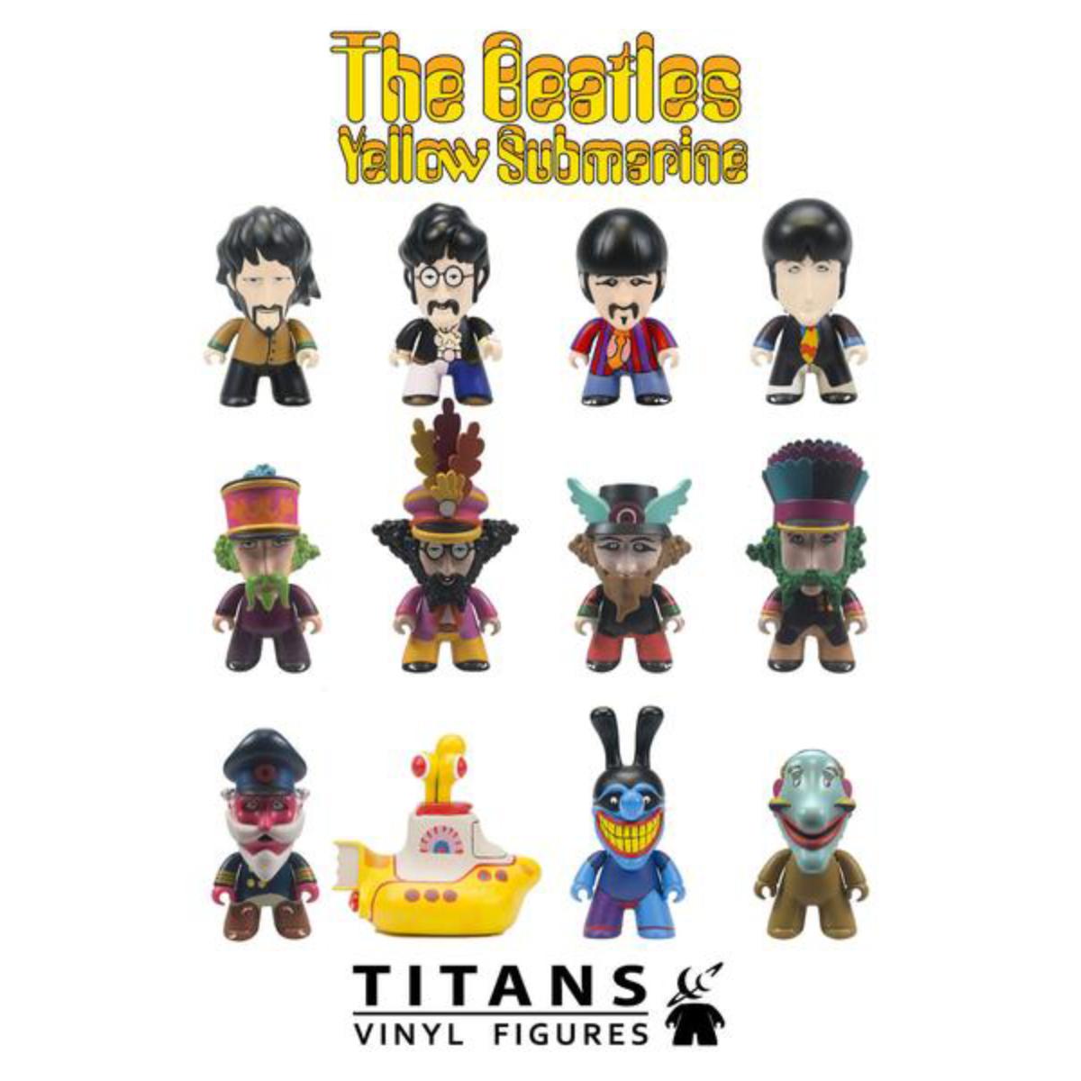 The Beatles TITANS: Yellow Submarine Single Unit