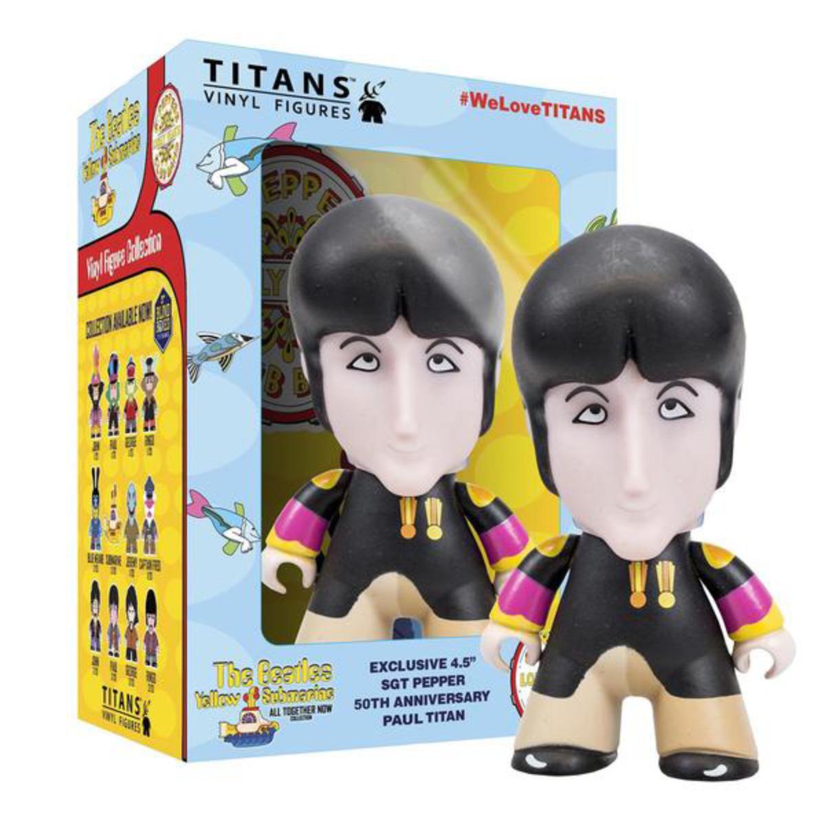 "The Beatles TITANS: 4.5"" Sgt Pepper Disguise Paul"