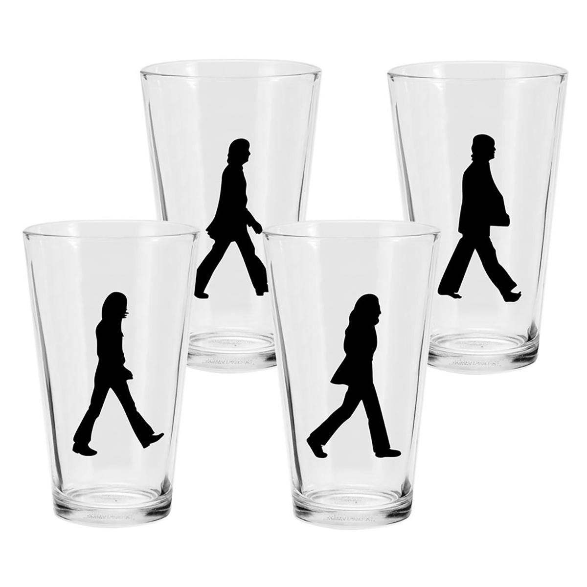 Abbey Road 4pc 16oz Glass Set