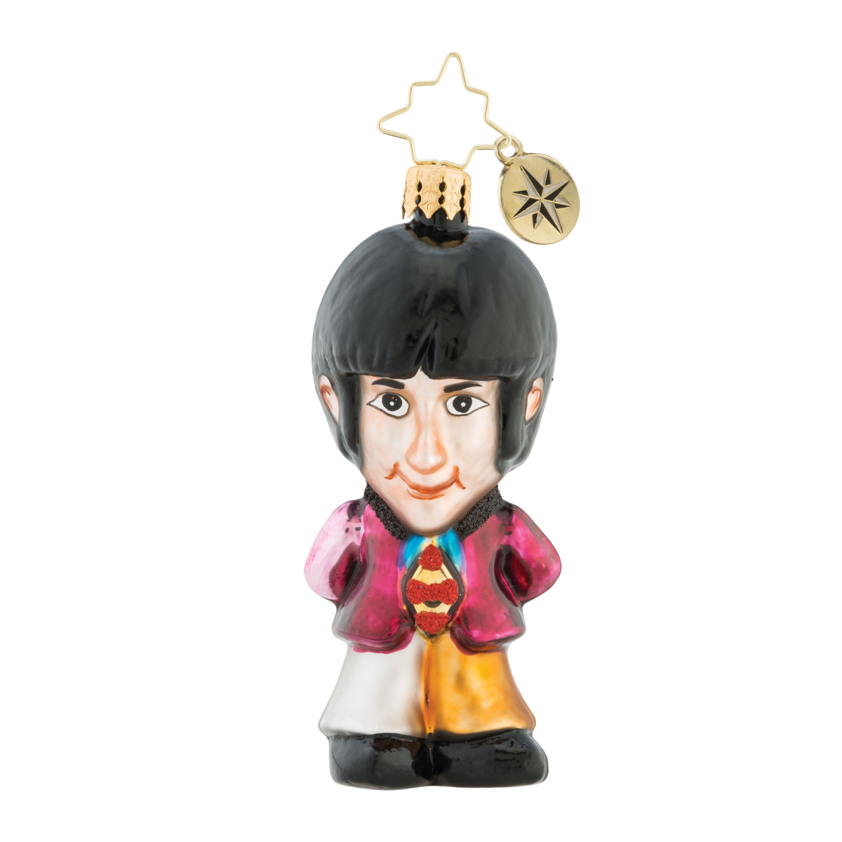 On Wings Of Christmas Gem Ornament