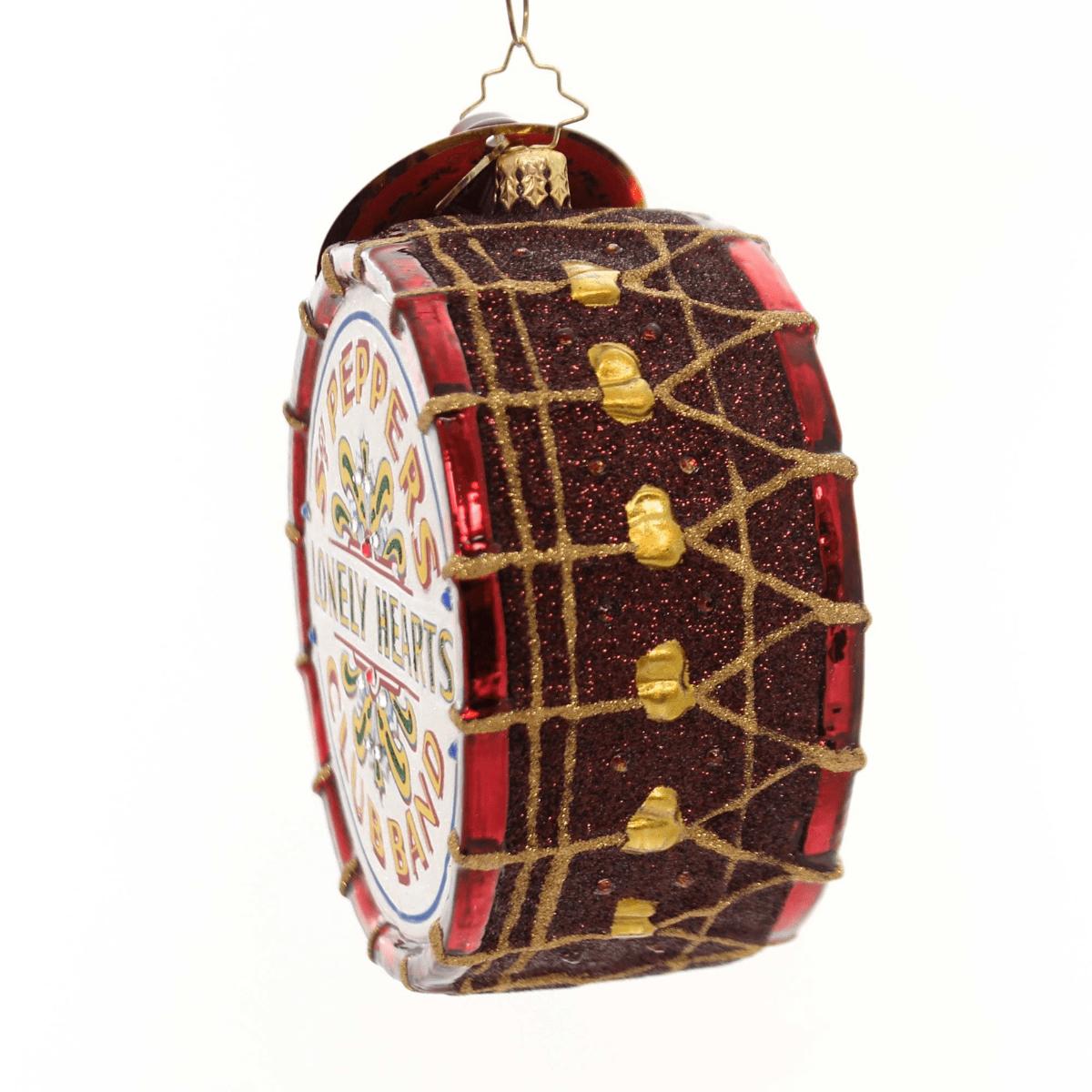 Beatles Sgt. Pepper's Drum Ornament