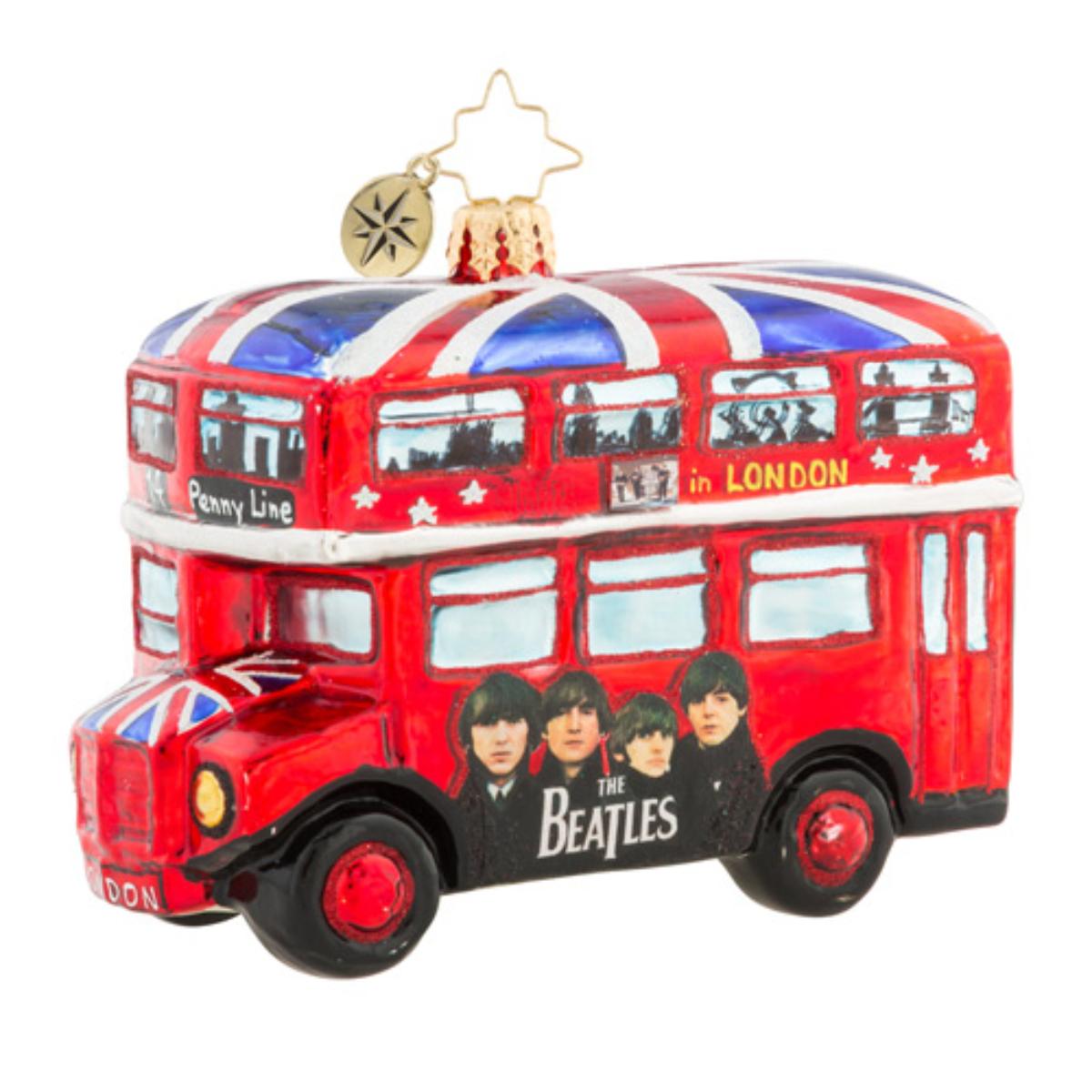 The British Invasion Ornament