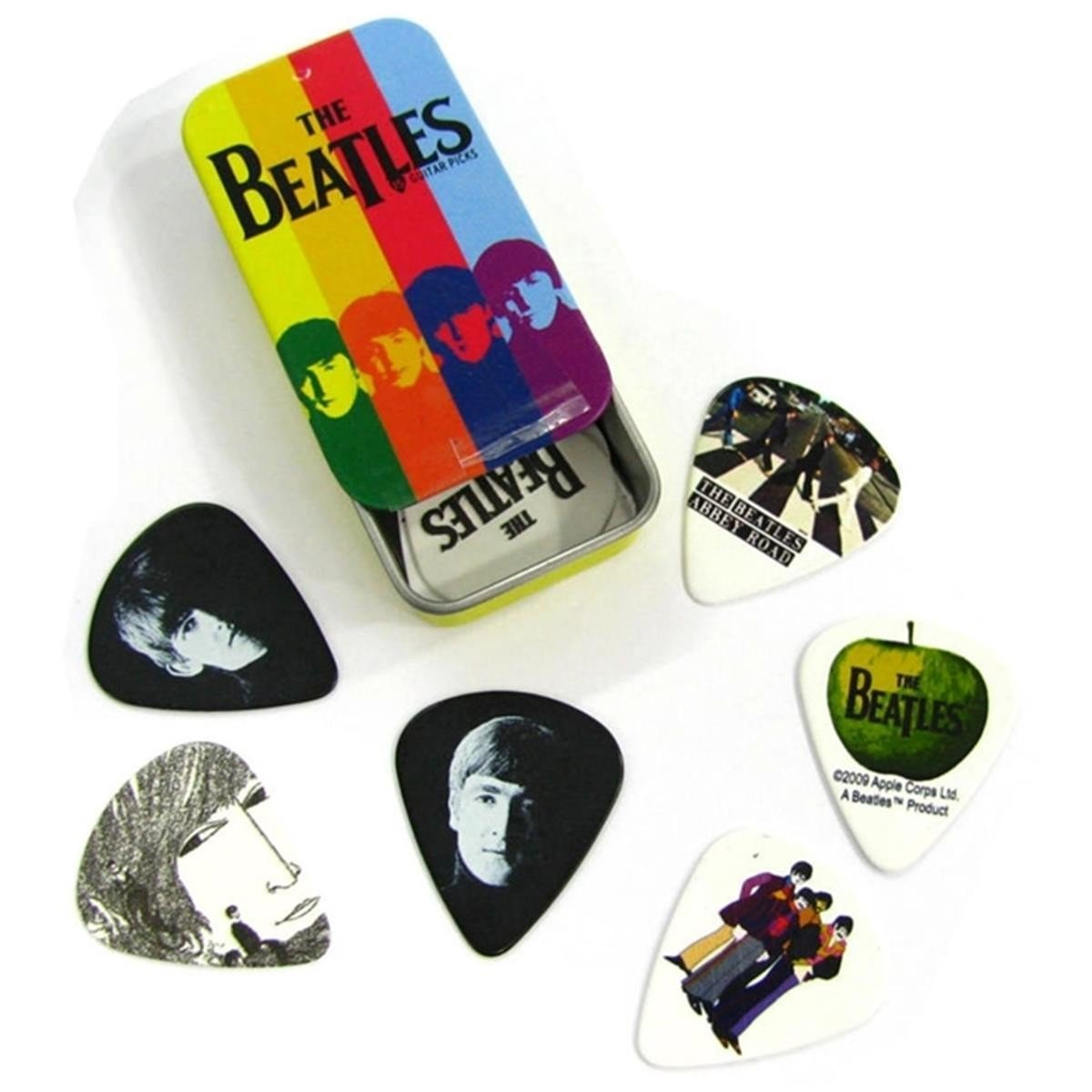 The Beatles Color Stripe Pick Tin