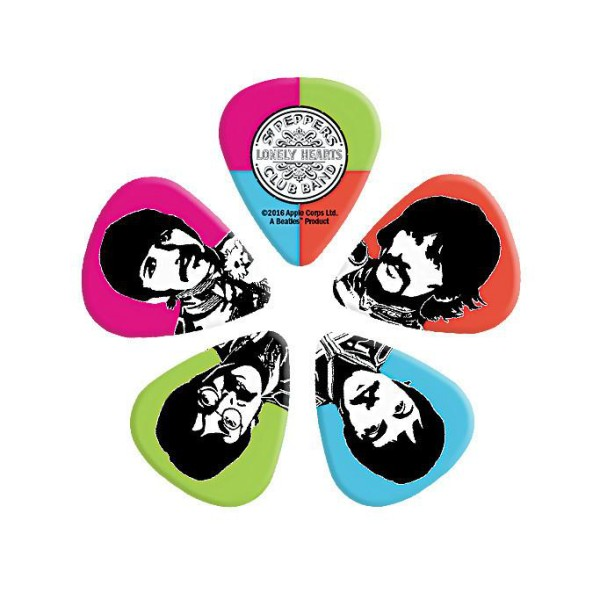 Sgt. Peppers 50th Anniversary D'Addario Pick Pack (Heavy)