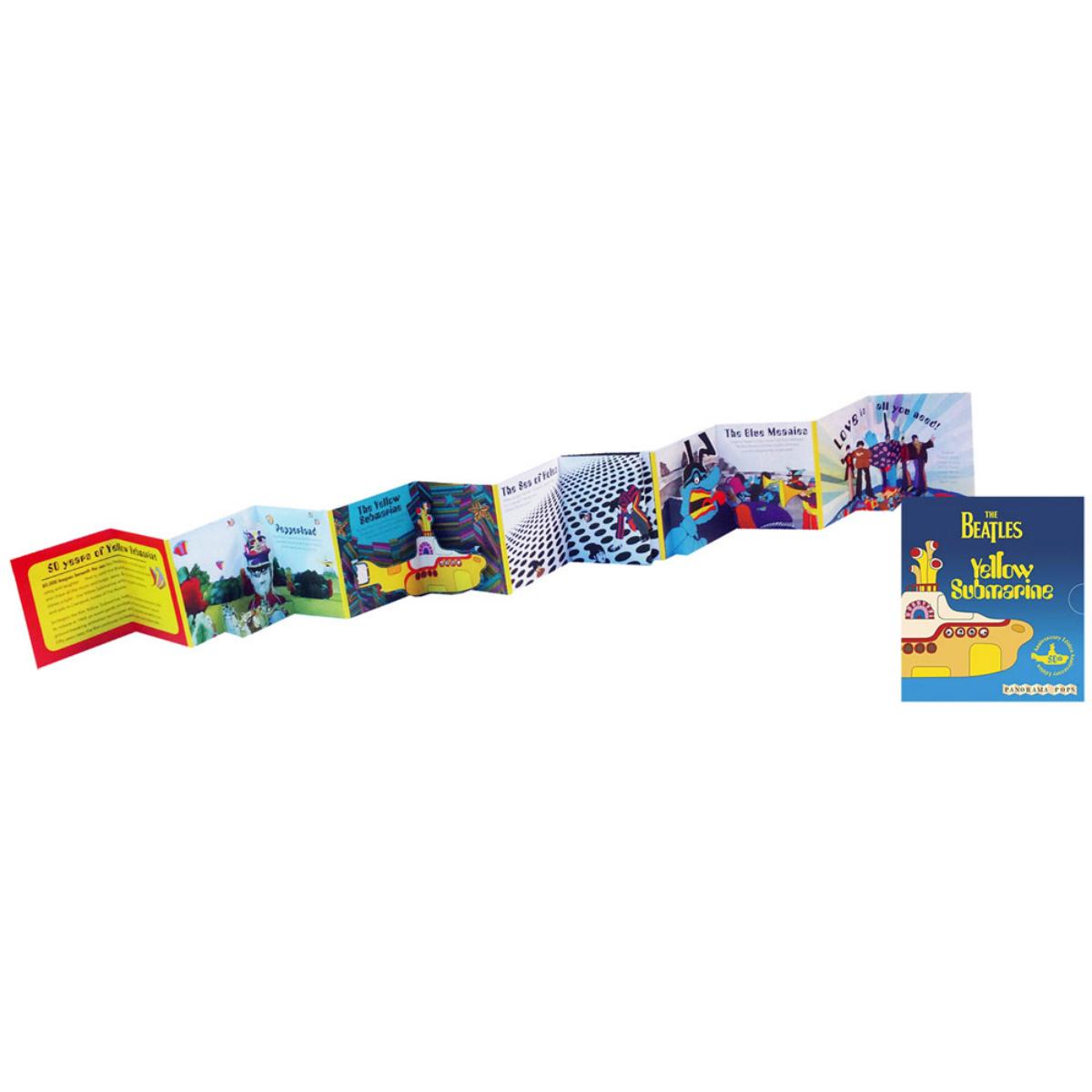 Yellow Submarine 50th Edition Pop Up Book