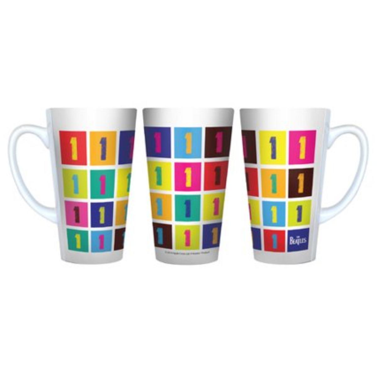 """The Beatles """"1"""" 16 oz. Latte Mug"""