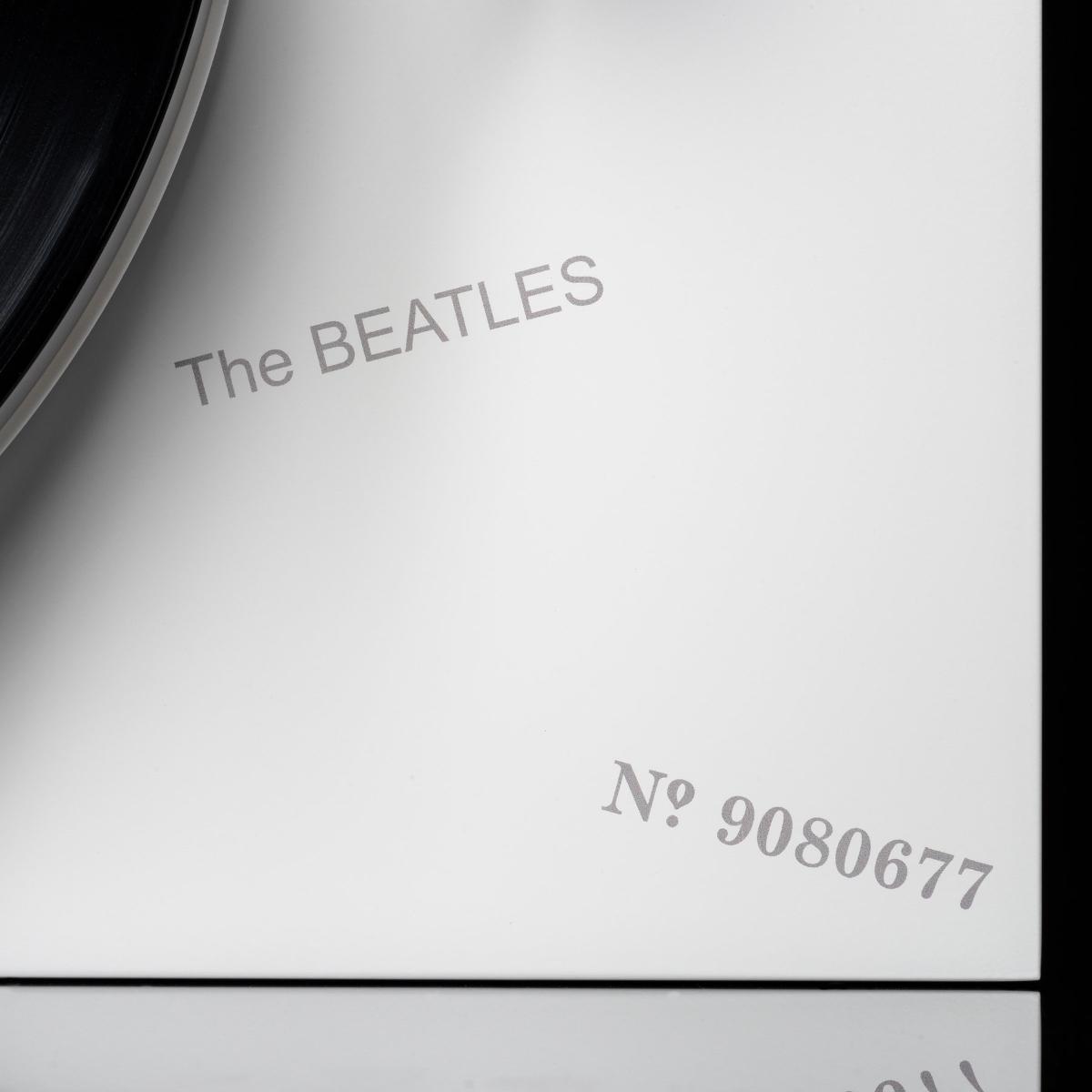 The Beatles White Album Turntable