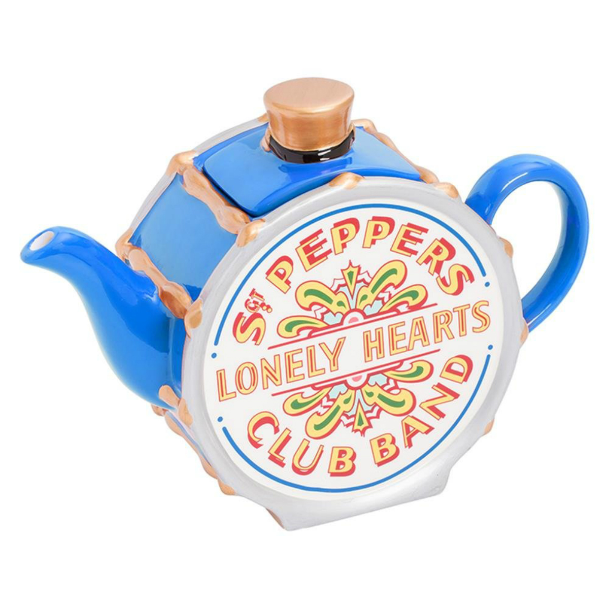 Sgt. Pepper Teapot Blue Series
