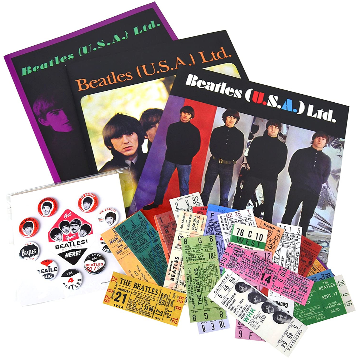 The Beatles Replica Memorabilia Box Set