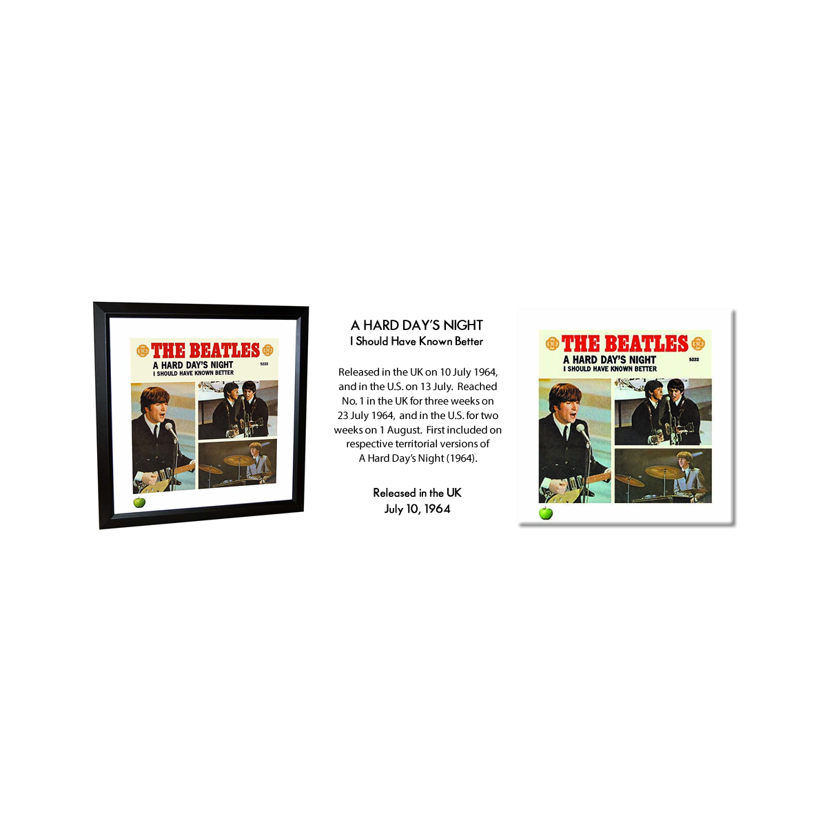 A Hard Day's Night Lithograph