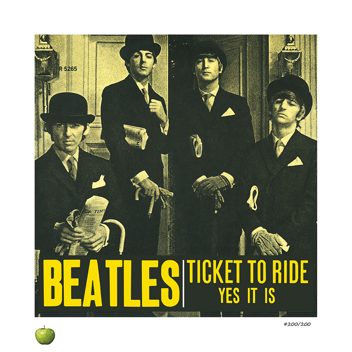 Ticket To Ride Lithograph