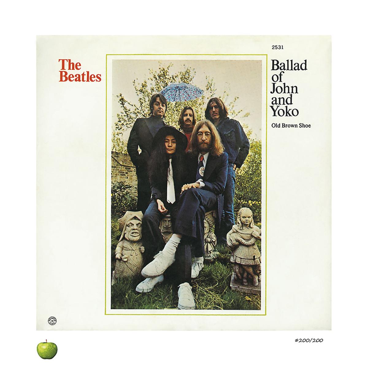 Ballad of John & Yoko Lithograph