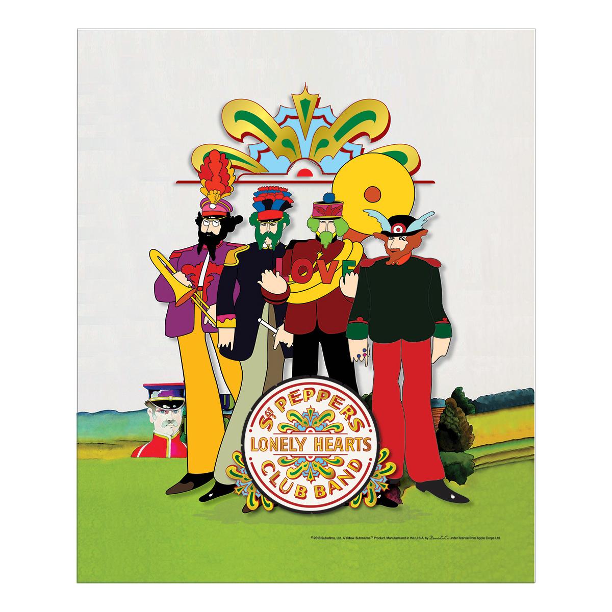 Pepperland Band w/Drum Head