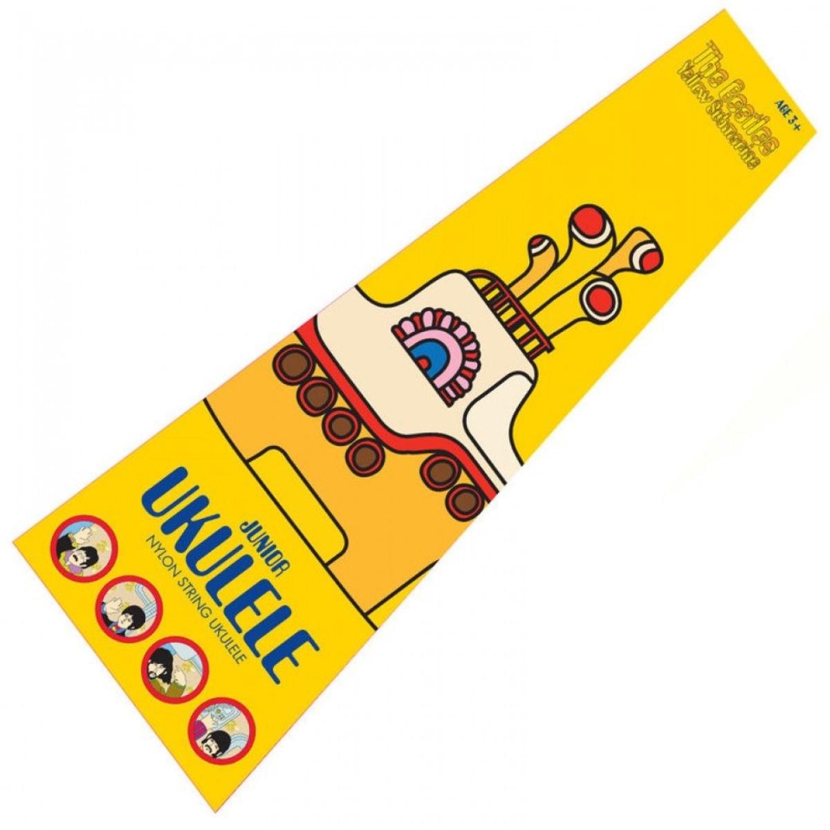Yellow Submarine Blue Ukulele
