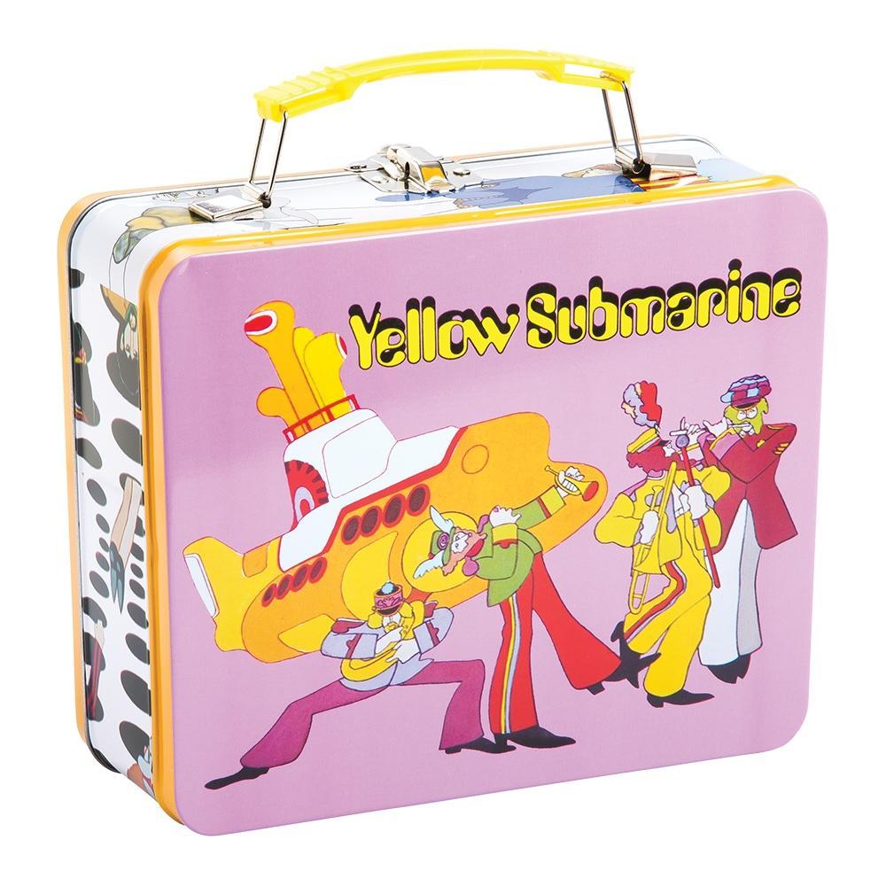 Yellow Submarine Vintage Large Tin Tote