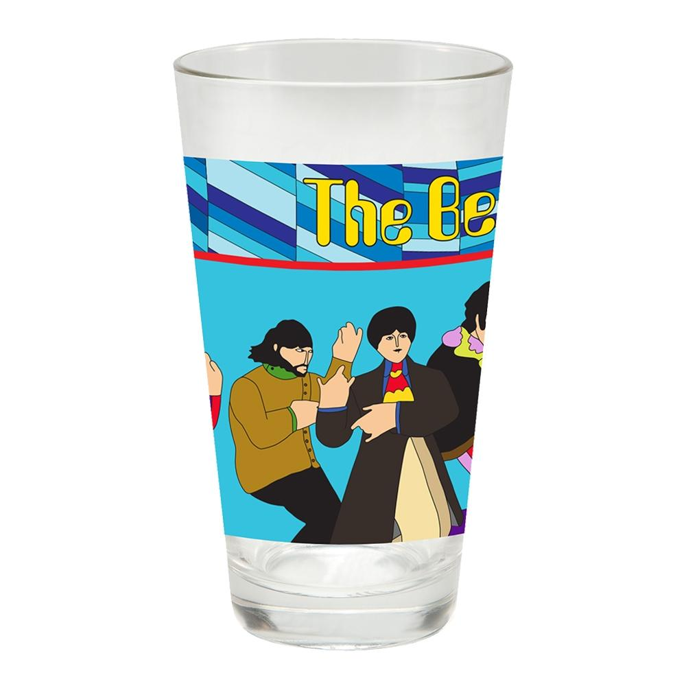 Yellow Submarine 16 oz. Pint Glass Set