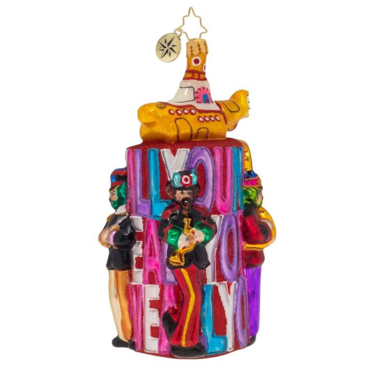 All You Need is Love Tower Ornament
