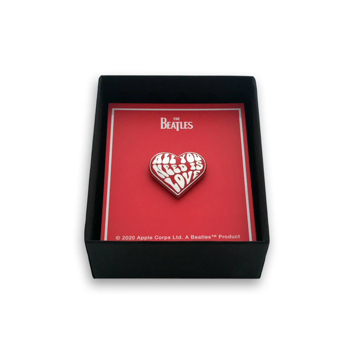 """""""All You Need Is Love"""" Limited Edition Necklace & Pin Gift Set - Only 100 Available!"""