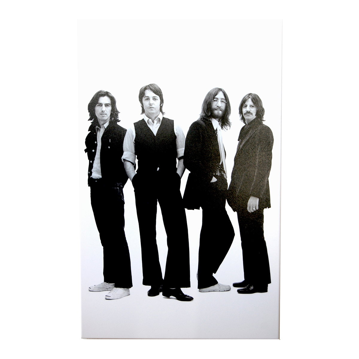 1968 Beatles Black & White Print
