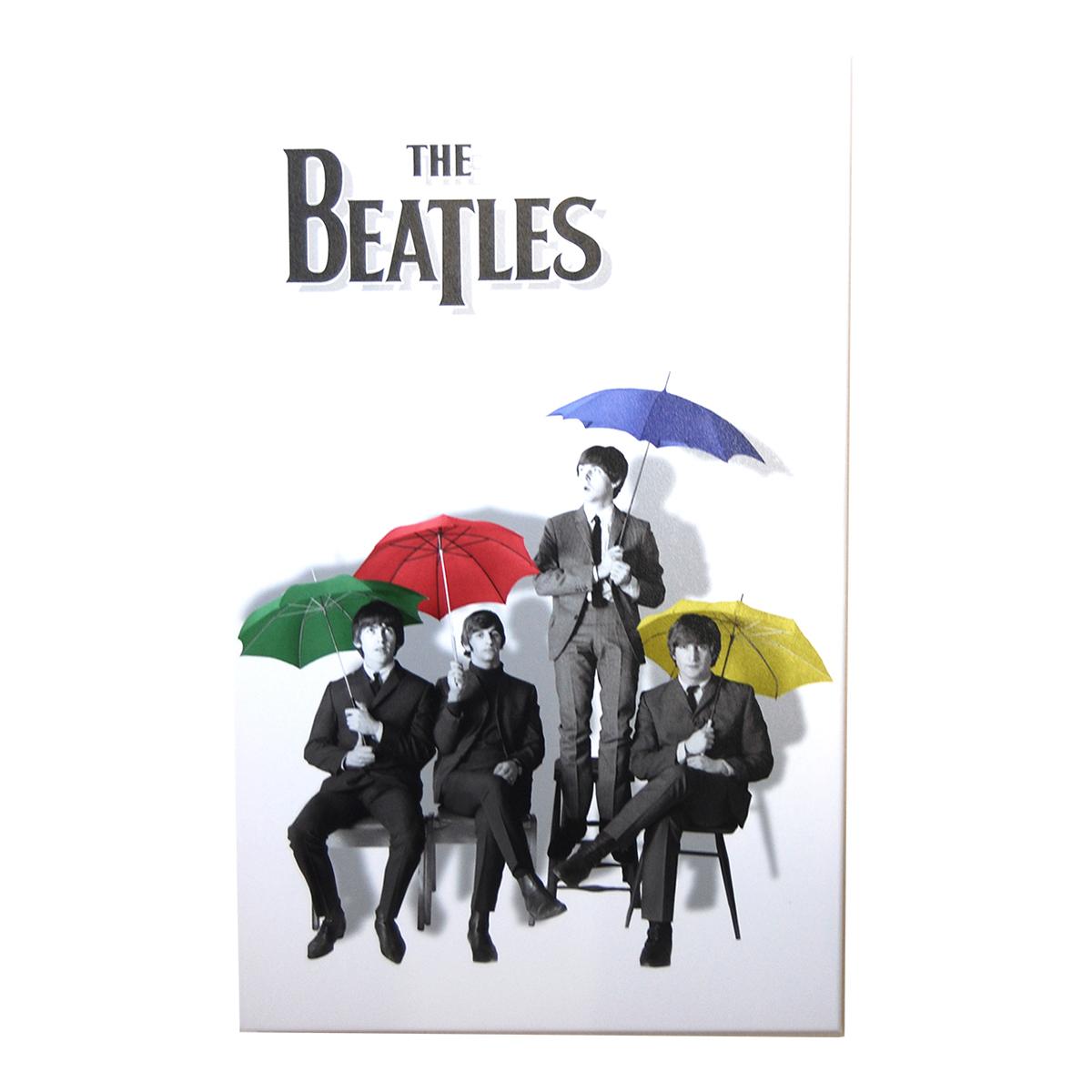 Beatles Color Umbrellas Print