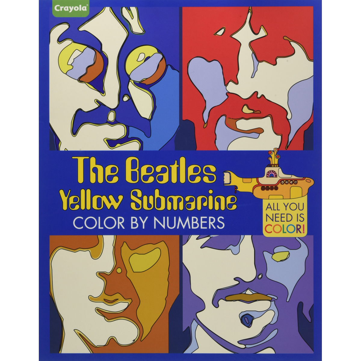 The Beatles: Yellow Submarine Color by Numbers