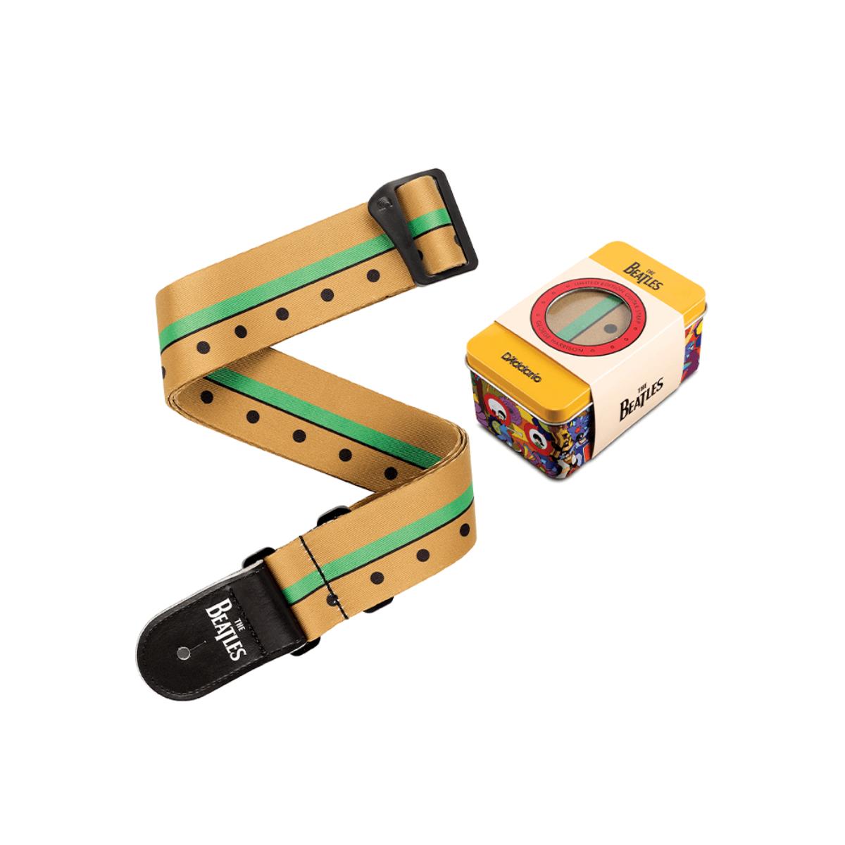 Yellow Submarine Guitar Strap & Pick Tin - George