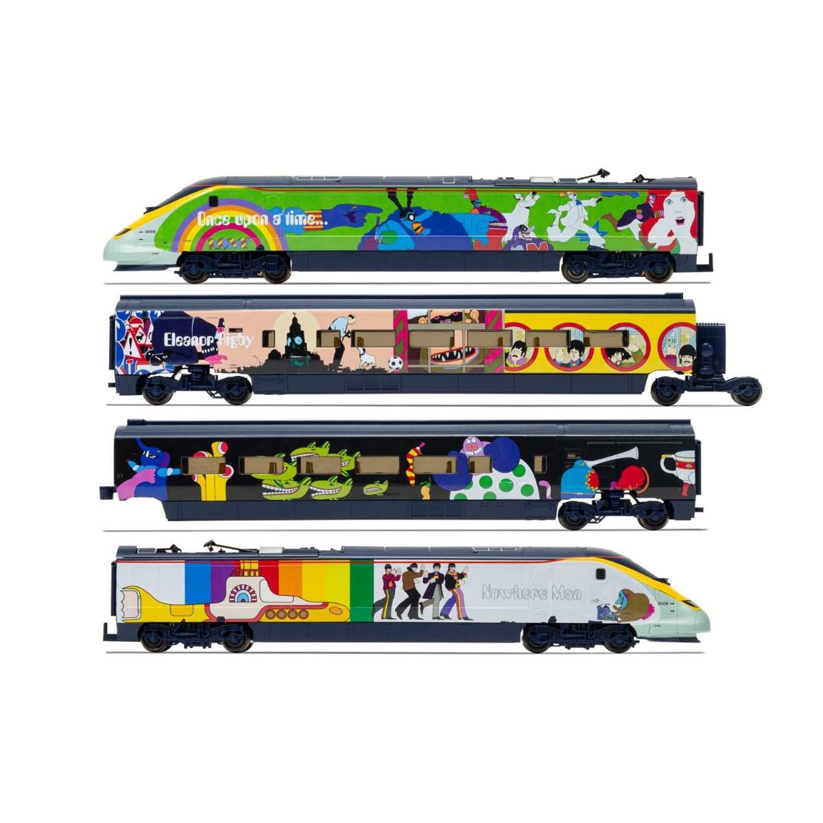 Hornby Eurostar 'Yellow Submarine' Train Set