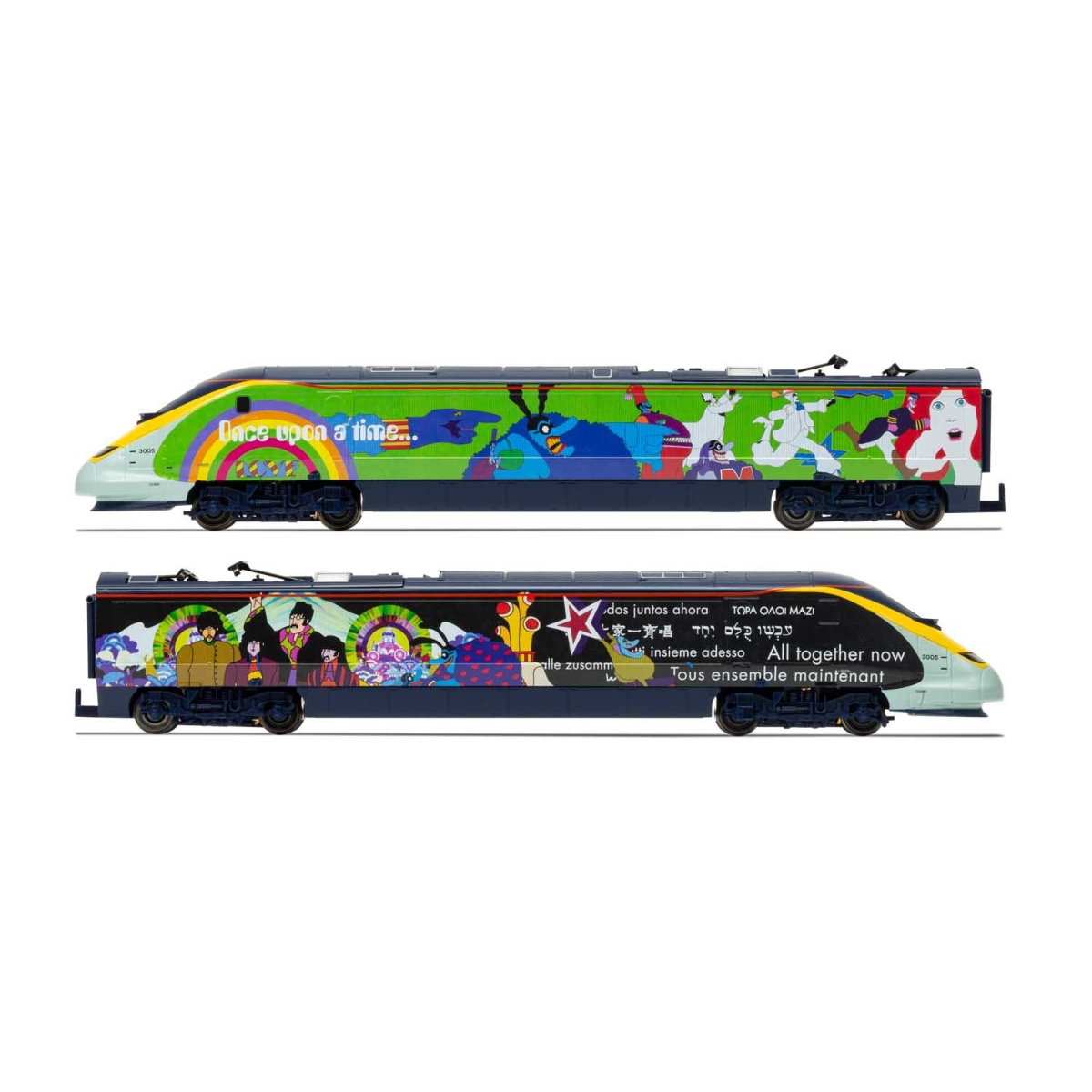 Hornby Eurostar 'Yellow Submarine' Train Pack (No Track)